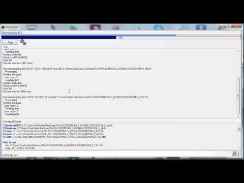 How to Flash Samsung Star 3 GT-S5220 with FlashTool_E2