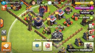 clash of clans gamplay