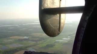 Consolidated B-24 Liberator - Flying over Illinois (2)