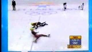 Steven Bradbury  wins gold! - winter olympics 2002