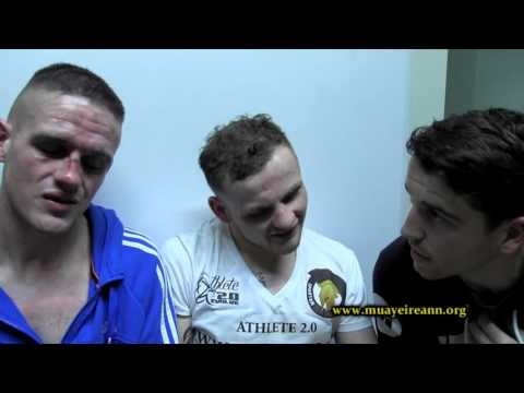 EOIN MAC & DOMMIE KELLY CAGE KINGS 3 INTERVIEW. 17-10-15