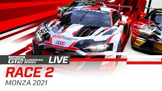 LIVE FROM MONZA - GT2 - RACE 2 - FANATEC GT2 SERIES - 2021