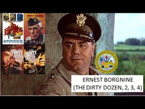 ERNEST BORGNINE the dirty dozen, 2, 3, 4 1967, 85, 87, 88