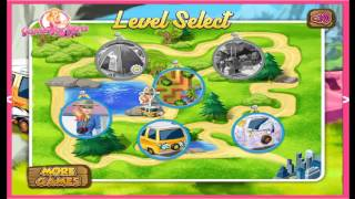 Barbie Family Going To Camping Cartoon Video Game For Kids