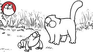 Tongue Tied  Simon's Cat | SHORTS #21