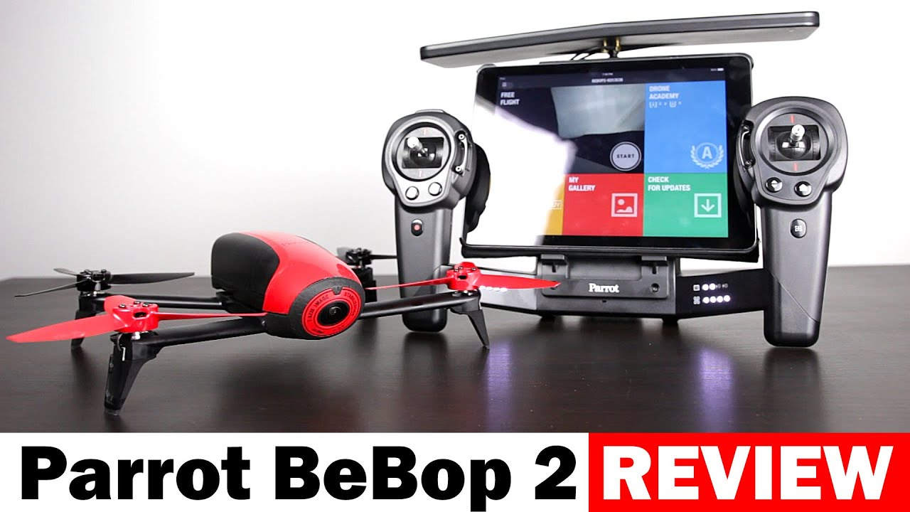 Parrot BeBop 2 Drone with Sky Controller - Full Review