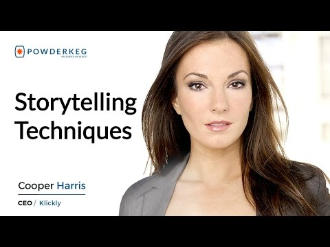 Storytelling Techniques for Business - Cooper Harris, Entrepreneur and Actress