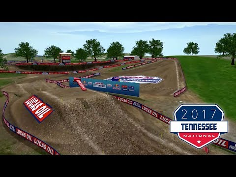2017 Tennessee motocross track map