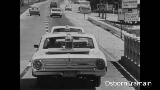 1964 Shell Oil Commercial USA with Platformate & Ford Galaxie 500 in Key West Florida