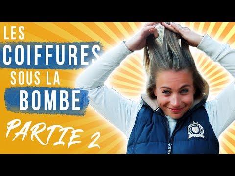 LES COIFFURES SOUS LA BOMBE 2 👱🏼♀️