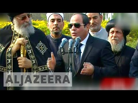 Cairo church bombing: Egypt's Sisi identifies attacker