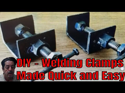Welding Clamps - DIY Cheap, Fast and Easy