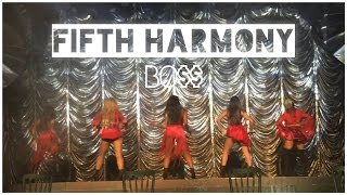 Fifth Harmony - Intro & 'BO$$' (Boss) Live in Manchester, UK
