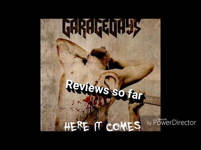 GARAGEDAYS- Reviews for the new album