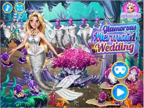 ❤ราพันเซลแต่งตัวเป็นนางเงือก Glamorous Mermaid Wedding❤