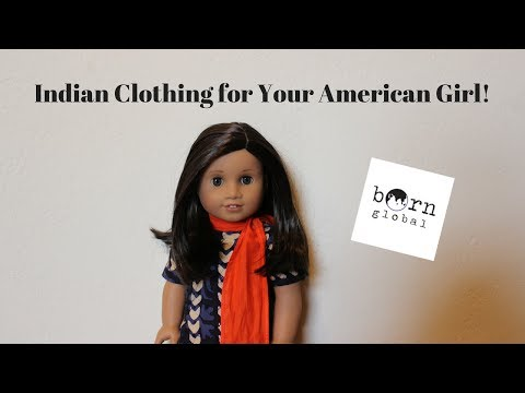 Opening Indian Clothing For American Girl Dolls!