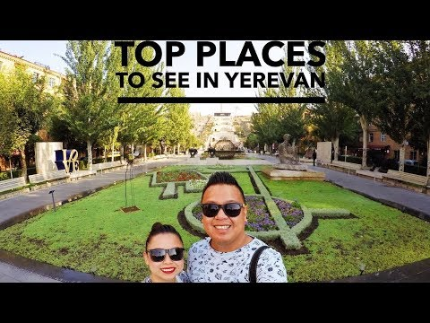 TOP PLACES to SEE in YEREVAN - Part Two | Armenia Travel Vlog Series