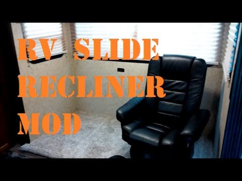 Adding Swivel Recliners To Rv Slide Out Part 1 Youtube