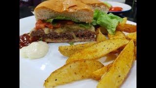 Aprenda Fazer Esse Delicioso Hambúrguer Artesanal
