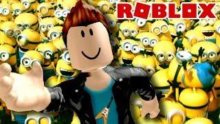 ESCAPE DOS MINIONS no ROBLOX ESCAPE THE MINIONS!! Adventure Obby