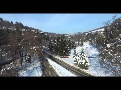 Pleven, Bulgaria - winter - 24.01.2016