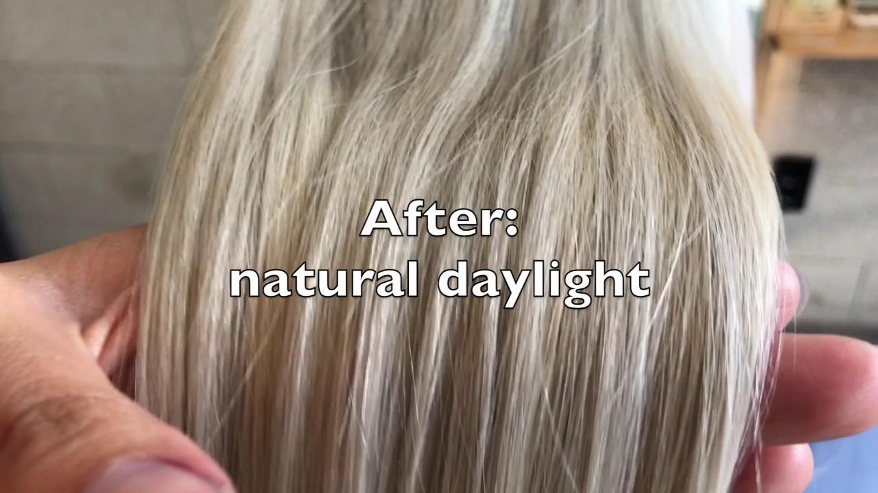 Purple Shampoo And Masque Youtube