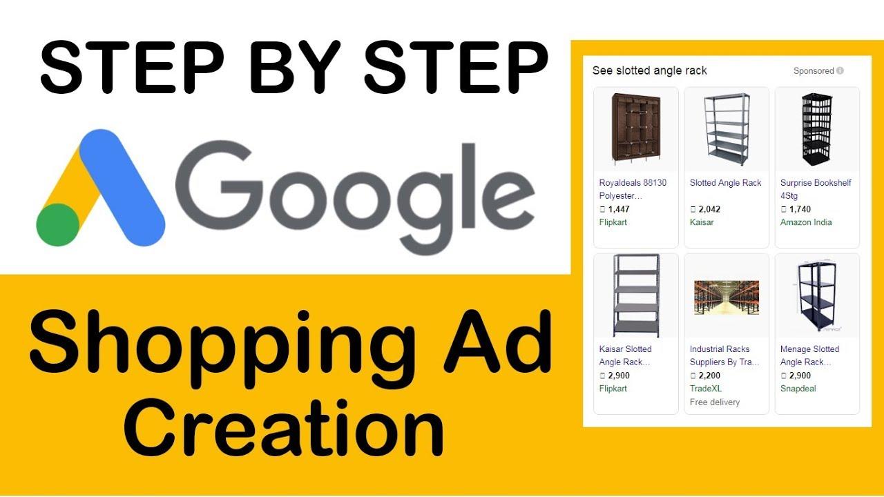 Google shopping ads tutorial 2019 | shopping campaign | create a google  shopping ad setup