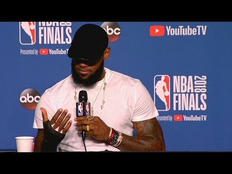 LeBron James Reveals He Broke His Hand In Anger After JR Smith's Mistake In Game 1