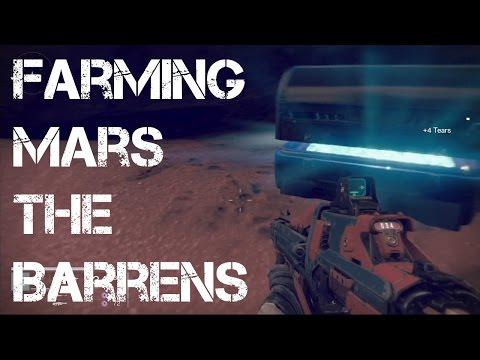 Destiny Farming Chest/Relic Iron The Barrens (Mars)