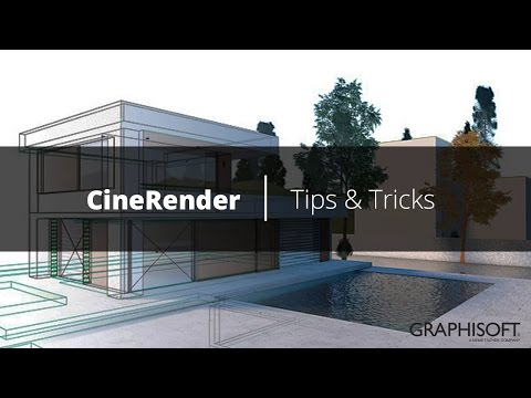 CineRender  |  Tips & Tricks  |  ARCHICAD
