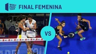 Final Femenina Josemaría/Nogueira Vs Amatriaín/Llaguno Estrella Damm Madrid Master