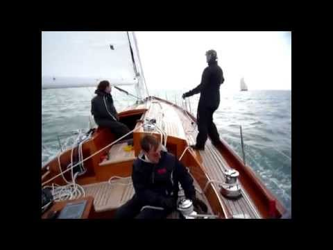 Spirit Yachts Classic sailboat at 16 knots