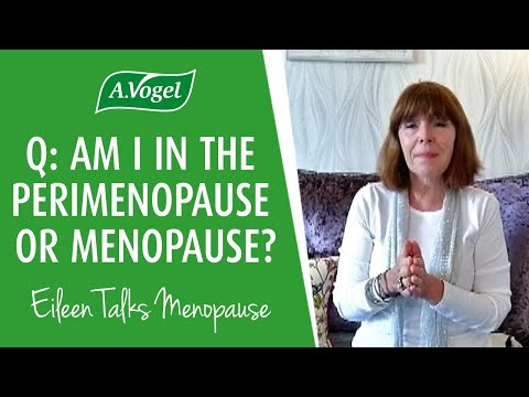 Am i in the peri-menopause or menopause?