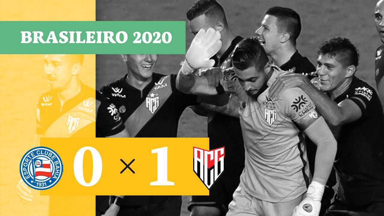 Баия  0-1  Атлетико Гояниенсе видео