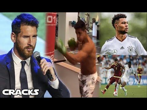 ¿Talento o trabajo? MESSI RESPONDE | ALEXIS BOXEA | VENEZUELA sub campeón | 1er fichaje del BAYERN thumbnail