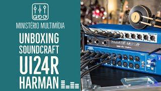 Unboxing Soundcraft Ui24r Mesa Digital - Multimídia IPBPVA