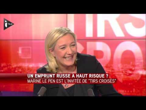 L'invité politique de Laurence Ferrari   Marine Le Pen Je ne suis pas socialiste, je ne me détermine