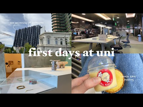 my first days of uni   The University of Melbourne