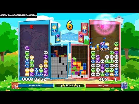 Puyo Puyo Tetris play  