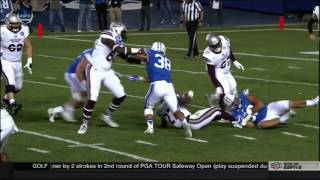 HIGHLIGHTS: BYU Football vs Mississippi St. 2016