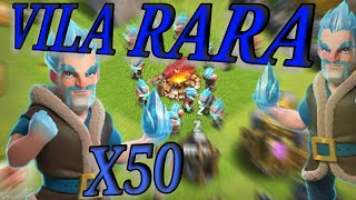 ENCONTREI UMA VILA RARA NO CLASH OF CLANS - CLASH OF CLANS 2017