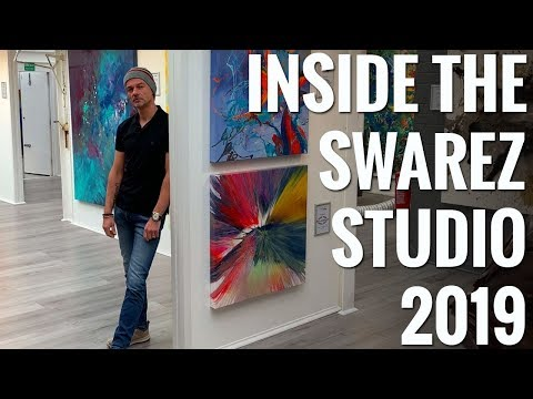 Inside The Artist's Studio And Gallery 2019 - Behind The Scenes And Swarez Art