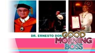 [Good Morning Boss] ETC Scientist of the Week: Dr. Ernesto Domingo [11|11|15]