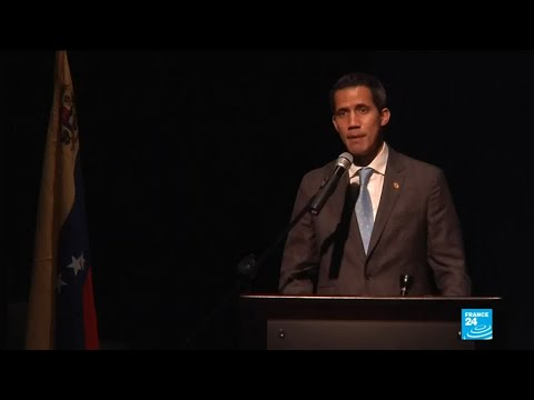"""We delivered the first shipment of humanitarian aid,"" says Guaido"