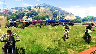 MARSHALL vs MOTO GTA 5 ONLINE
