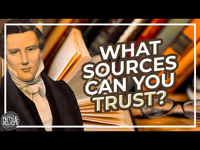 Who can you trust when you're trying to understand Mormonism?