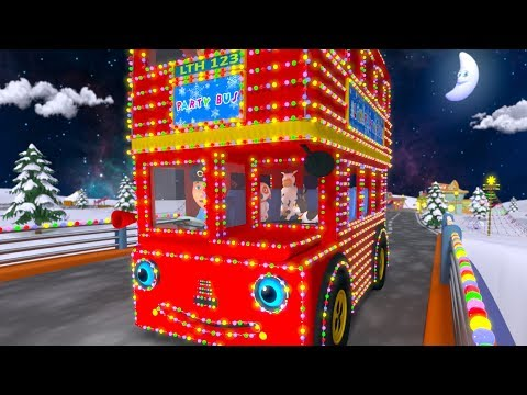 Winter Wheels On The Bus | Kindergarten Nursery Rhymes For Toddlers | Cartoons by Little Treehouse