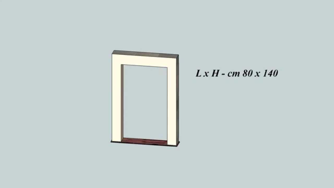 Come prendere le misure per infissi finestre e zanzariere youtube - Misure infissi finestre ...