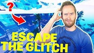 Most Confusing Fortnite Escape Maze EVER | Skinzofrene's X-Brain - Escape the Glitch