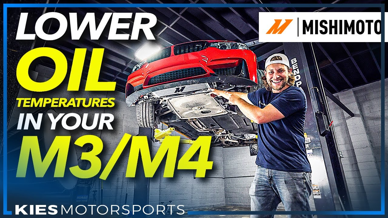 How to Install the Mishimoto F80/F82 OIL COOLER! LOWER YOUR OIL TEMPERATURES!